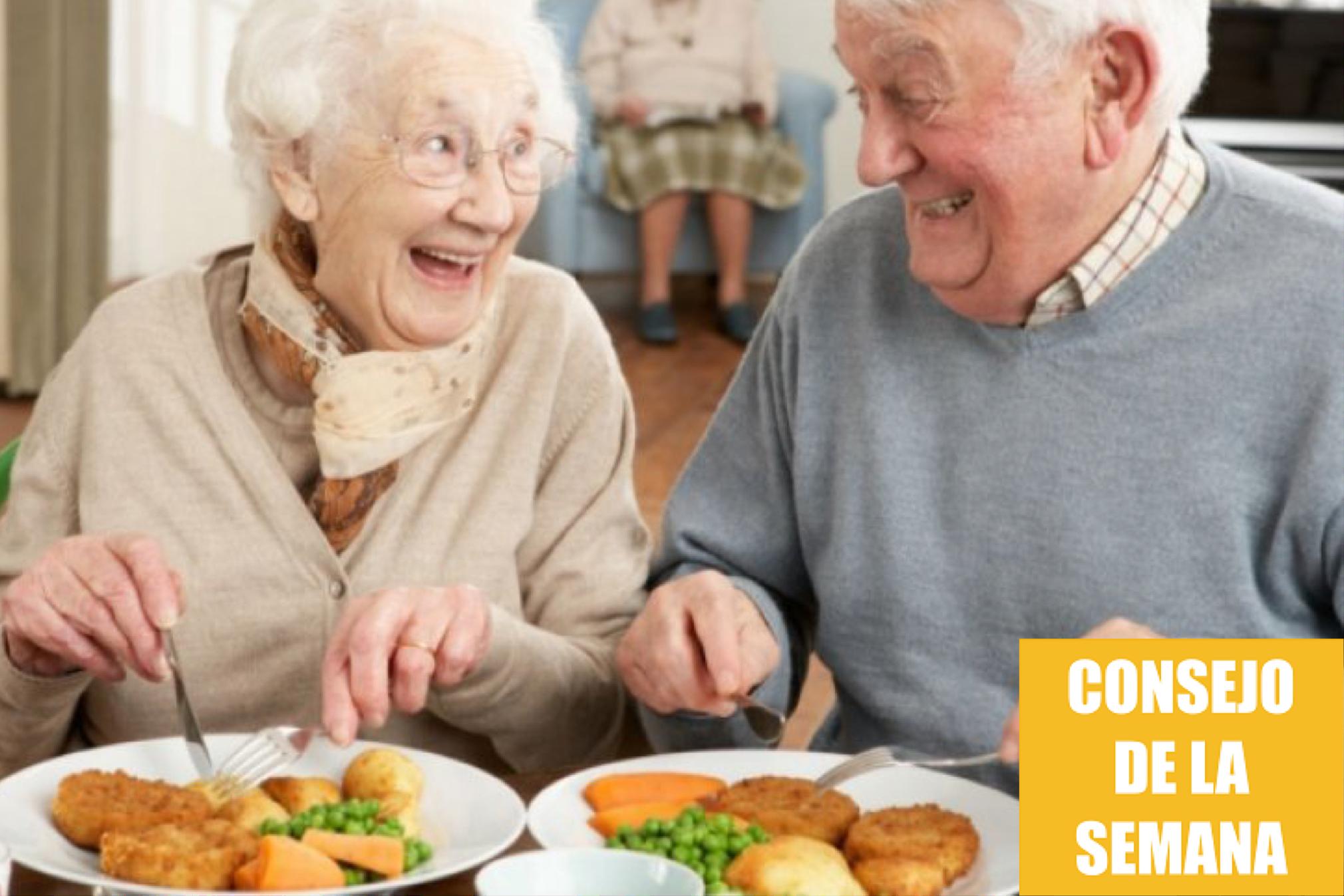 Consejos para cuidar la alimentación de las personas mayores