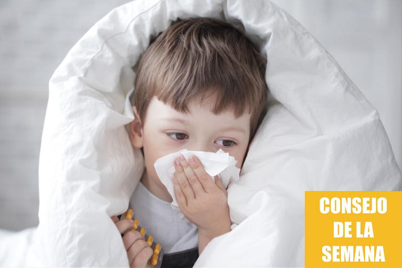 Consejos para evitar los catarros y gripes de tus hijos en Otoño
