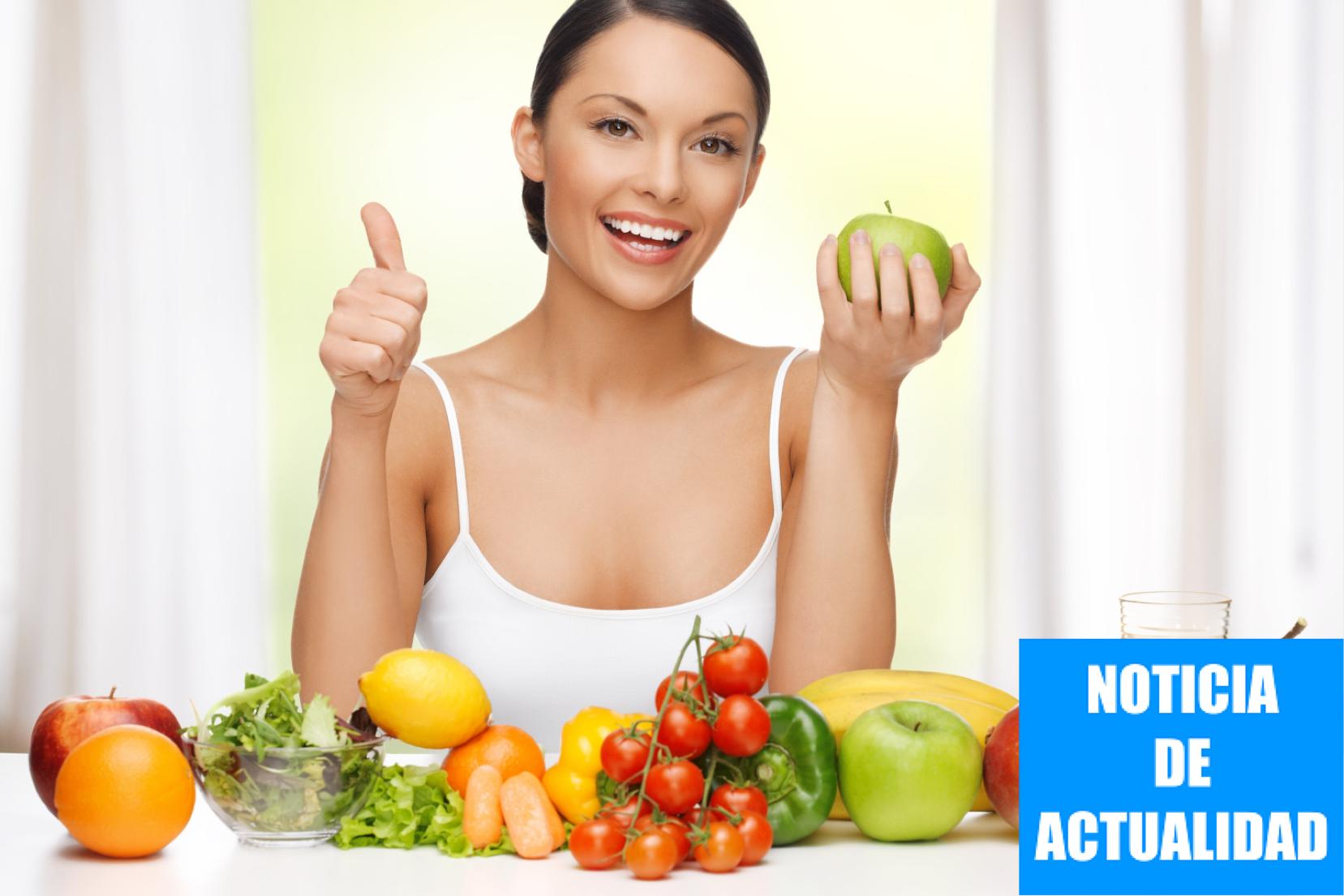 Las frutas y las verduras de color verde ayudan a fortalecer el cabello en primavera