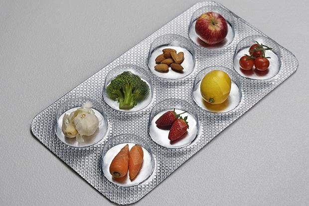 Los suplementos se suman a la pirámide alimentaria