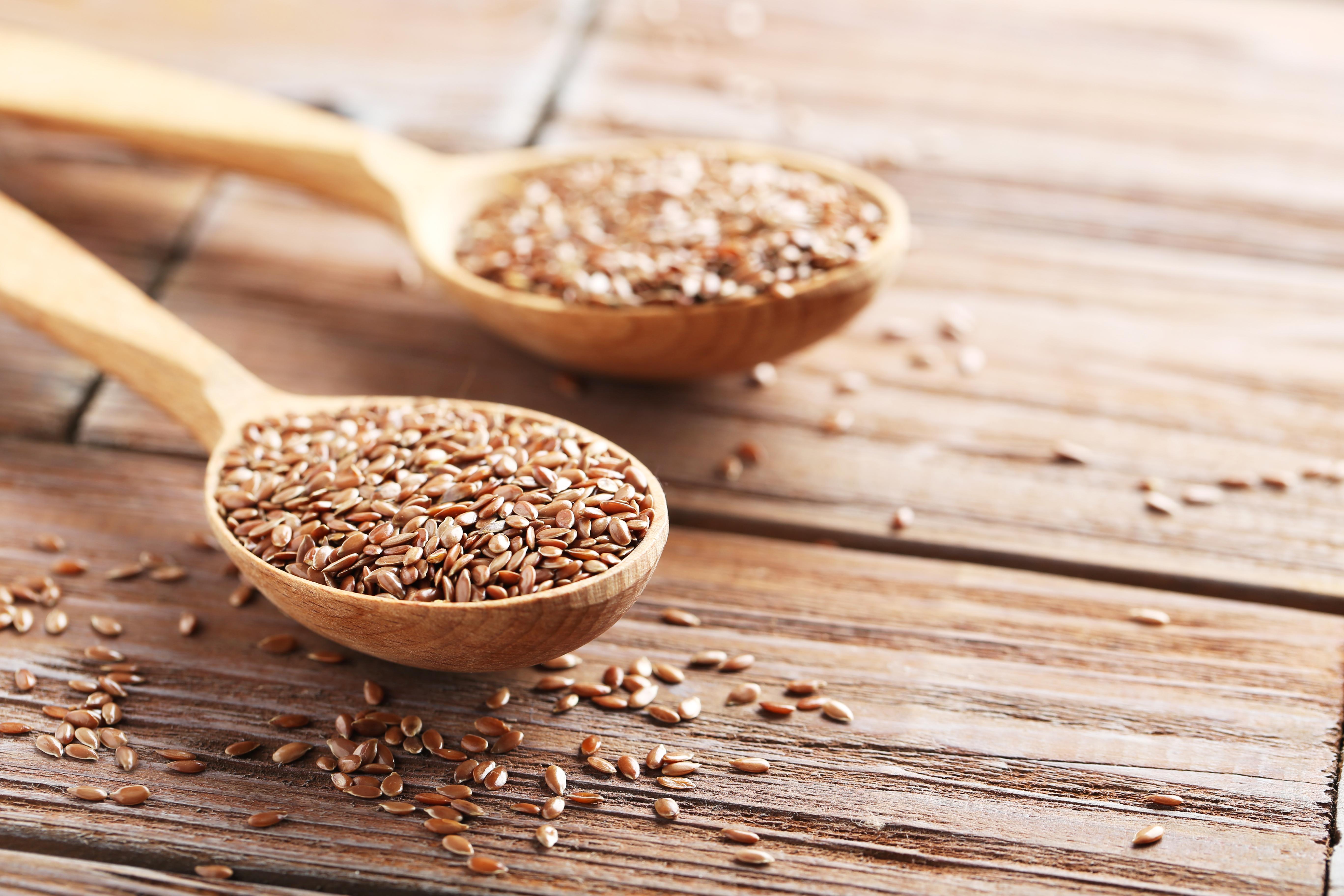 Beneficios de las semillas de lino o linaza