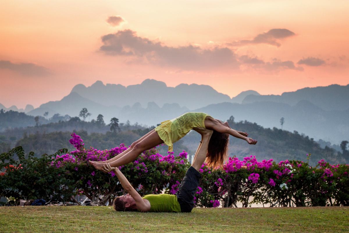 Acroyoga, ayuda a equilibrar tu vida