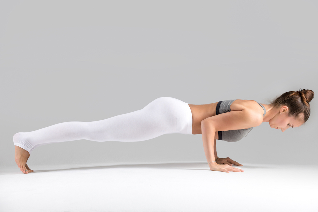 ejercicio abdominales plancha