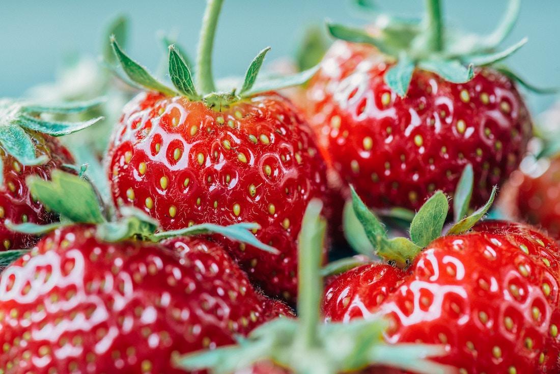 frutos rojos para la piel