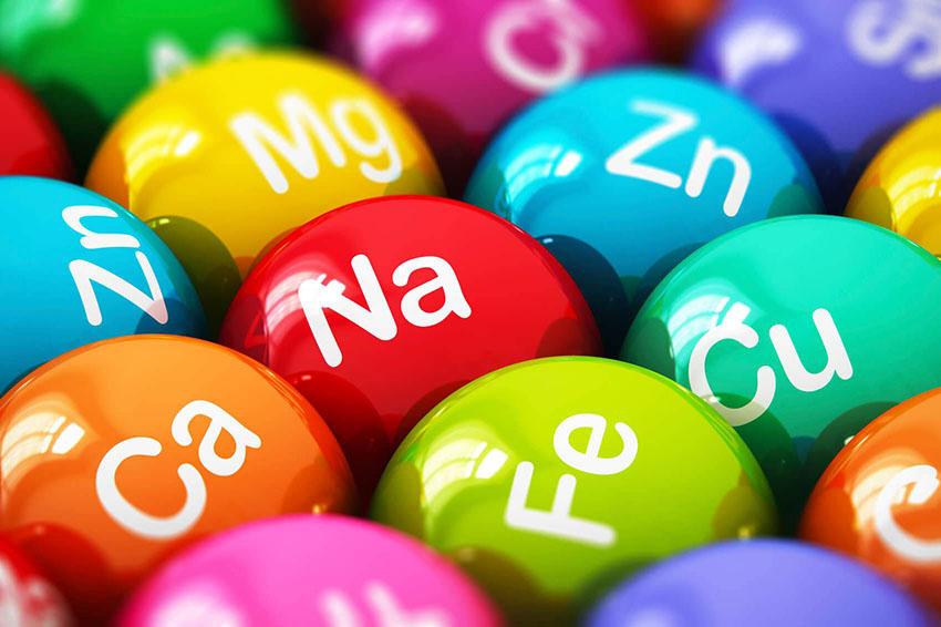 minerales enenciales tipos