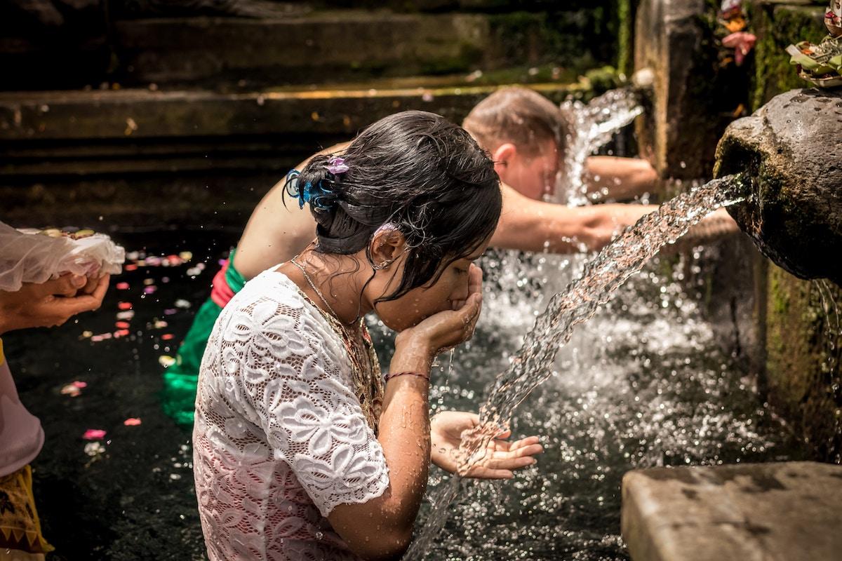 agua salud en vacaciones