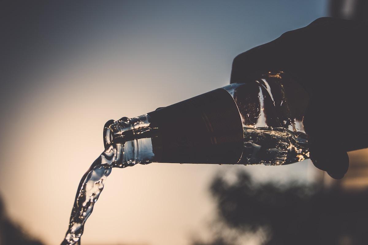 agua hipotension