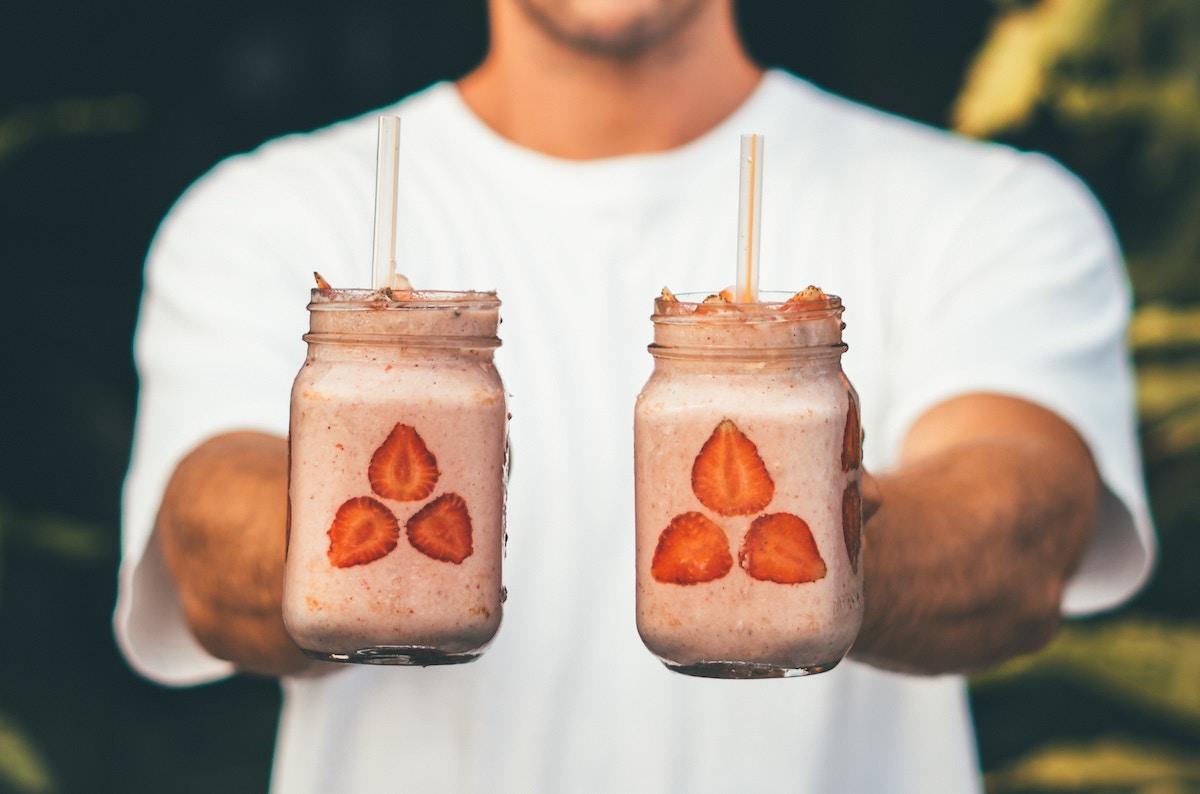 batidos y zumos de verano