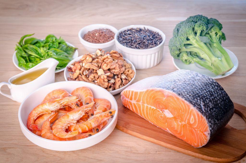 Ácidos grasos esenciales Omega 3, infografía