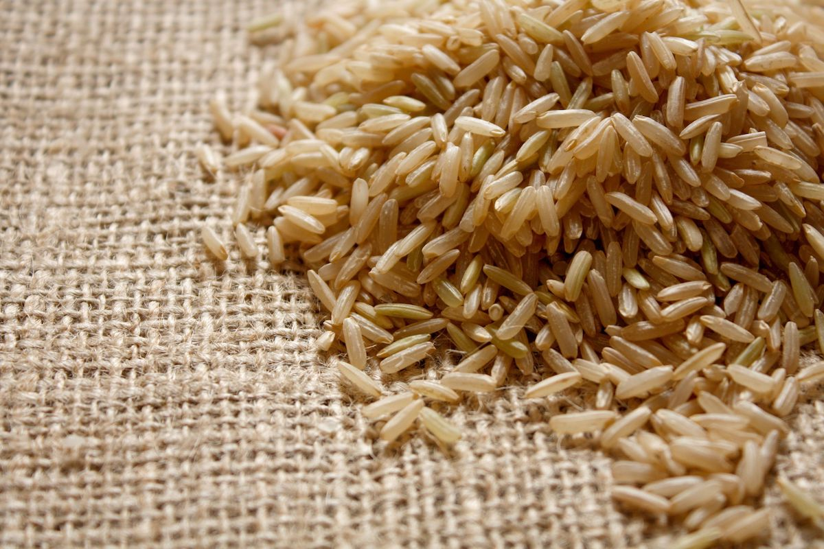 arroz integral cereales sin gluten