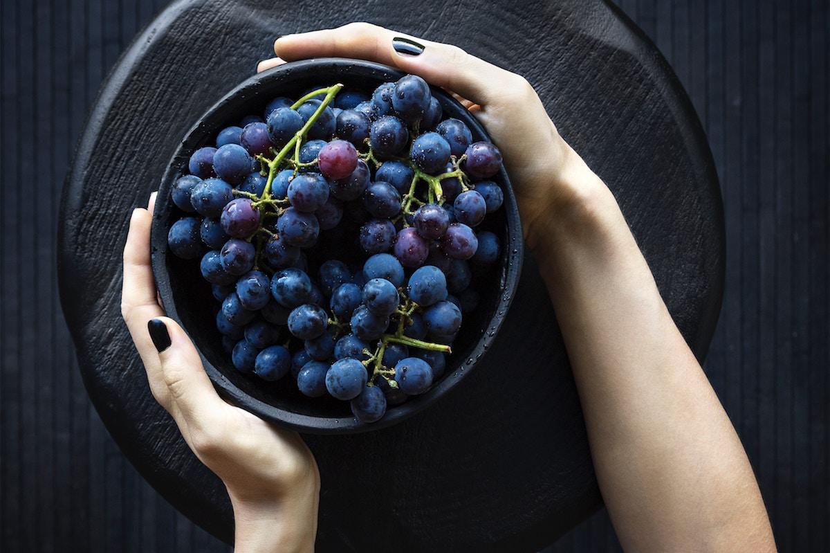uvas para el organismo