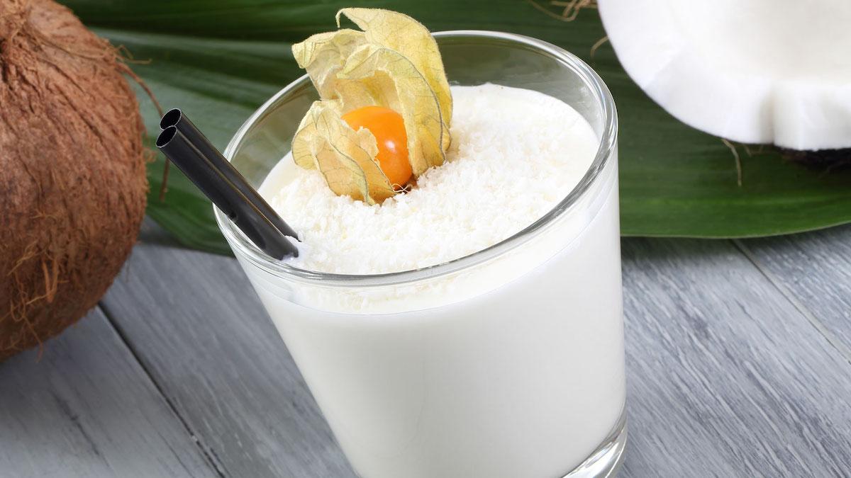bebidas vegetales de coco
