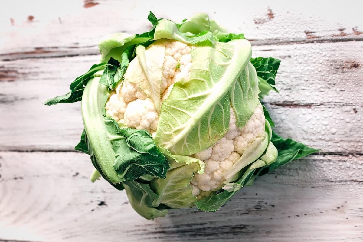 coliflor verduras primavera