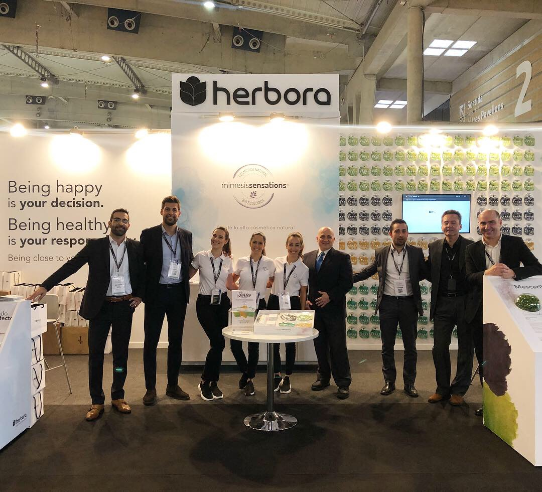 Herbora en CosmoBeauty Barcelona