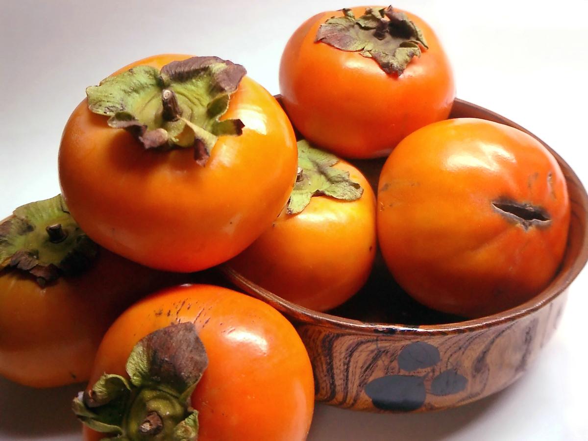 caqui frutas de otoño