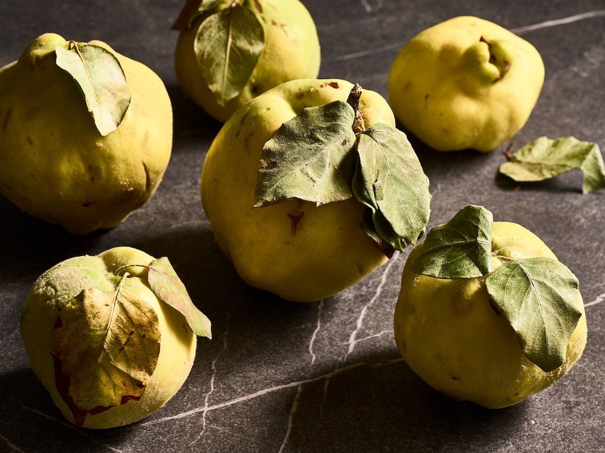 membrillo frutas de otoño