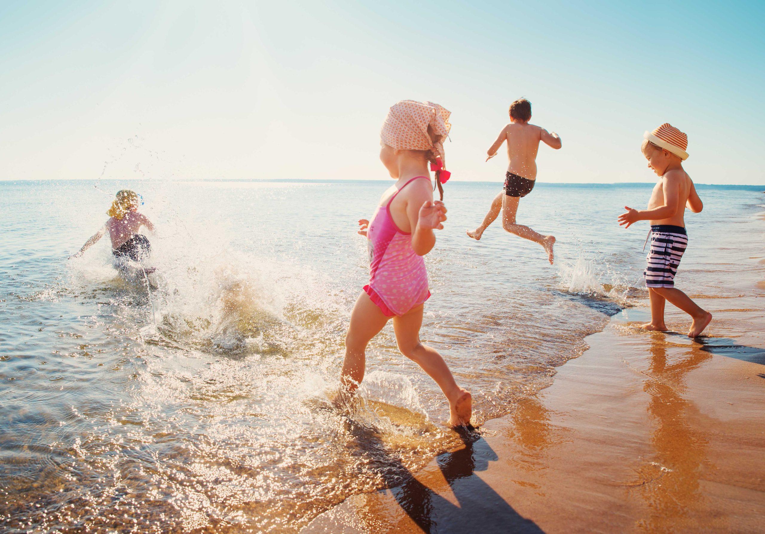 Cuidados de verano para niños