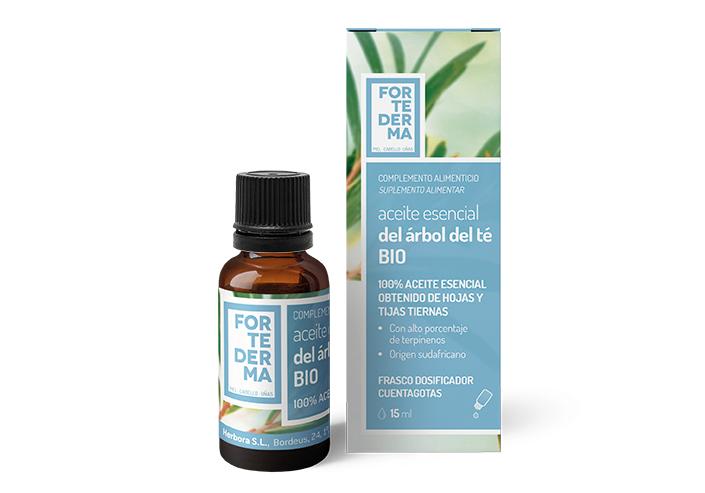 Aceite esencial del árbol del té