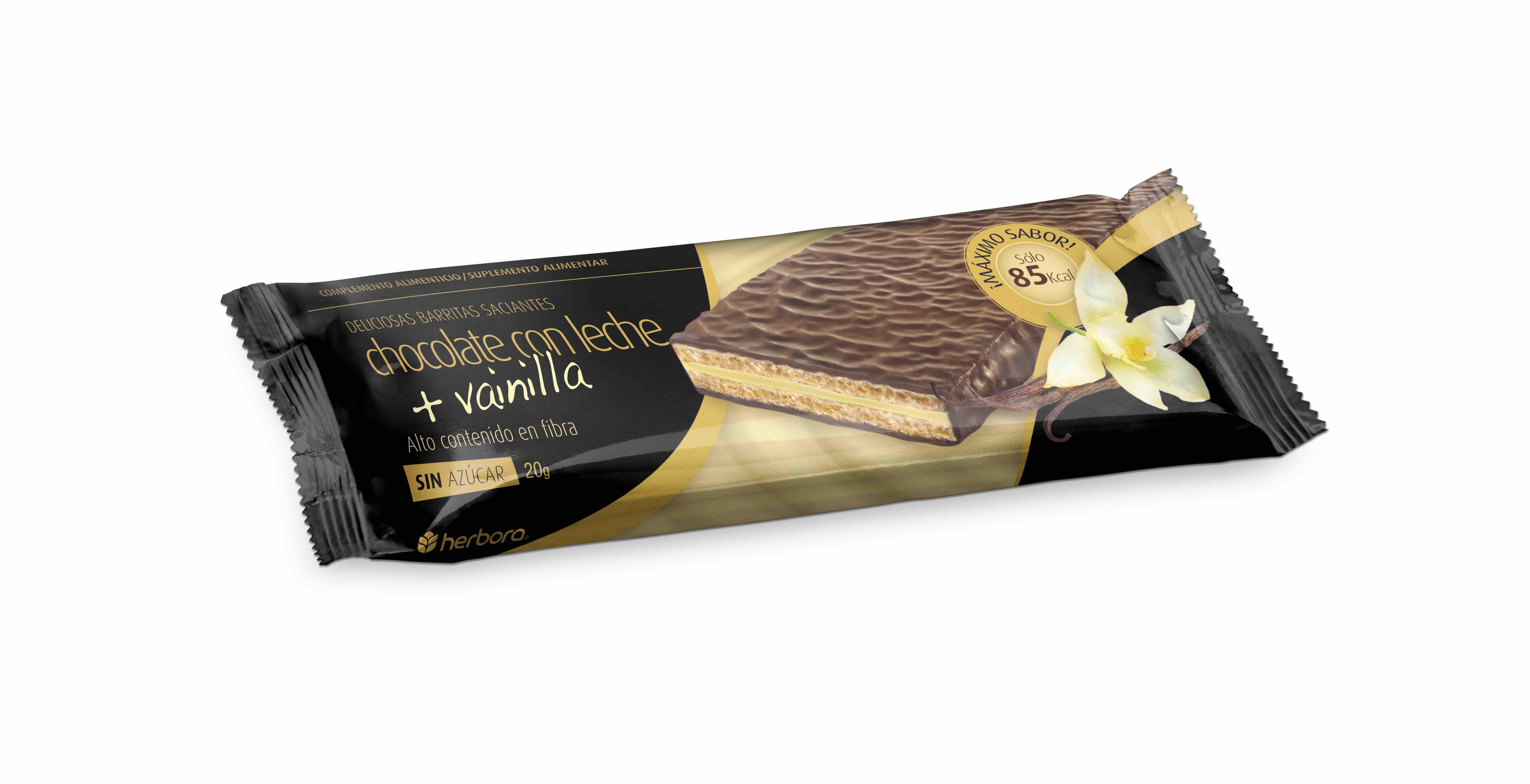 Barrita saciante chocolate con leche y vainilla