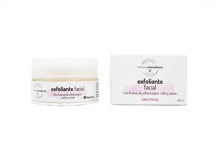 Exfoliante facial mimesis sensations