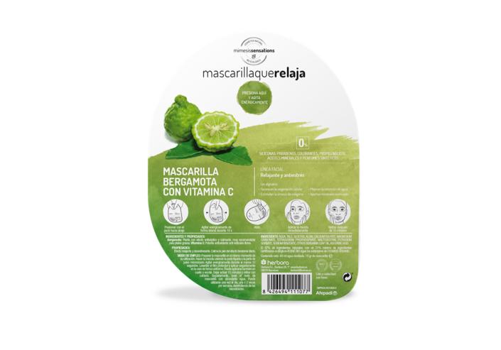 Mascarilla que relaja Bergamota y vitamina C