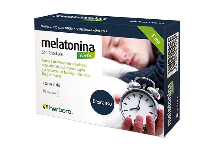 Melatonina forte 30 cápsulas