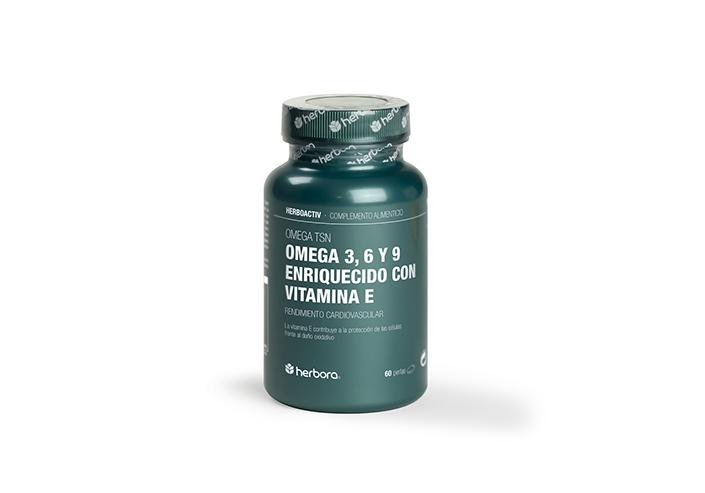 omega 3, 6 y 9 enriquecido con vitamina E